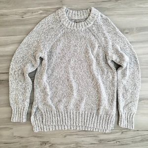 Aerie Heathered Grey Crewneck Sweater